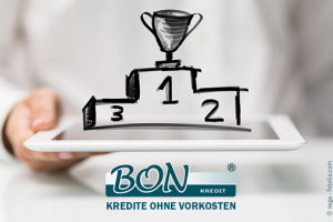 Bon-Kredit: Bestes Kreditportal 2017!