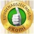 eKomi Siegel GOLD für Bon-Kredit aus unabhängiger Kundenauswertung!