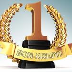 eKomi Siegel GOLD für Bon-Kredit